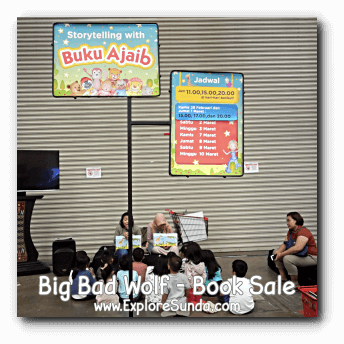 Storytelling at Big Bad Wolf Book Sale Jakarta, ICE - BSD City