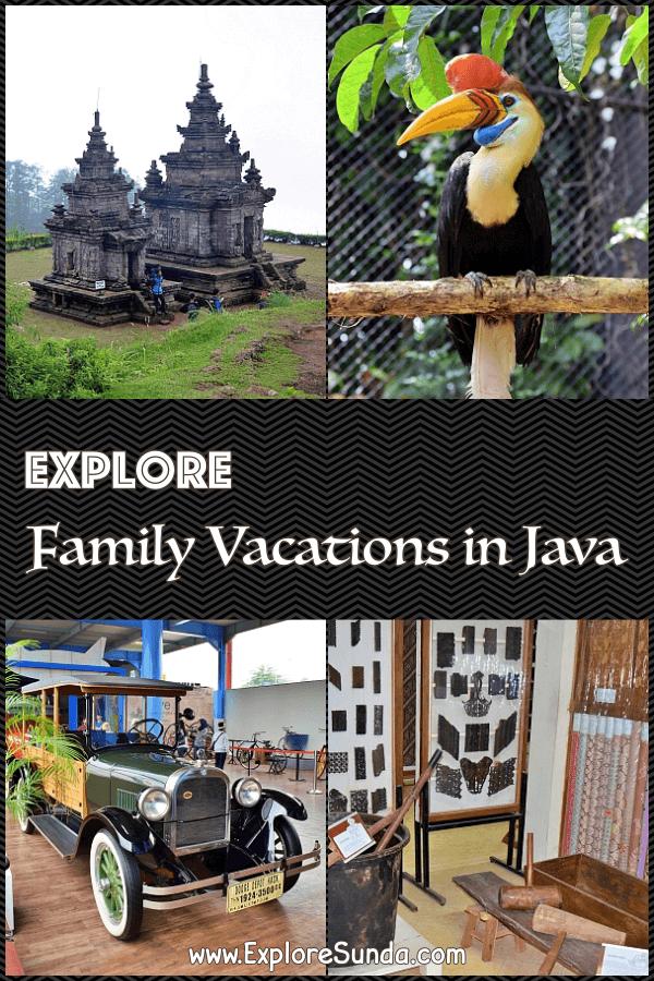 Let's explore other places in #Java | #Temples : #Borobudur #Prambanan #GedongSongo | #Zoo :  #BatuSecretZoo #GembiraLoka #EcoGreenPark #BatangDolphinCentre | #JatimPark2 | #ExploreSunda.com