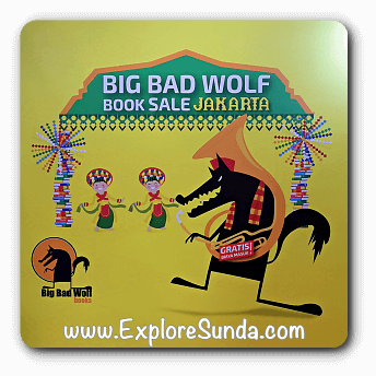 Big Bad Wolf Book Sale in ICE, BSD City, Tangerang Selatan
