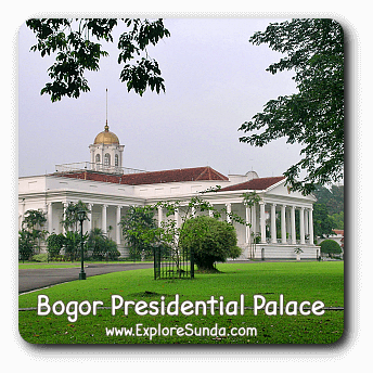 Bogor Presidential Palace.
