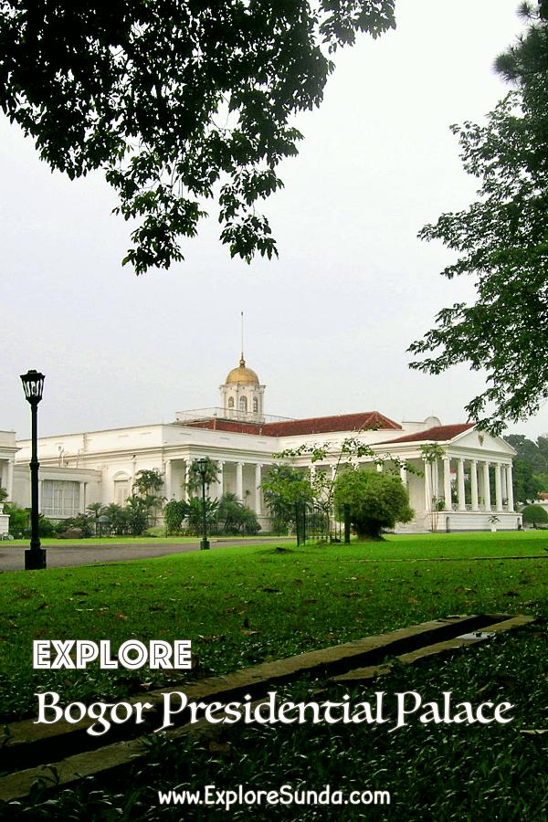 Explore #BogorPresidentialPalace inside the #BogorBotanicalGarden | #Bogor | #ExploreSunda.com