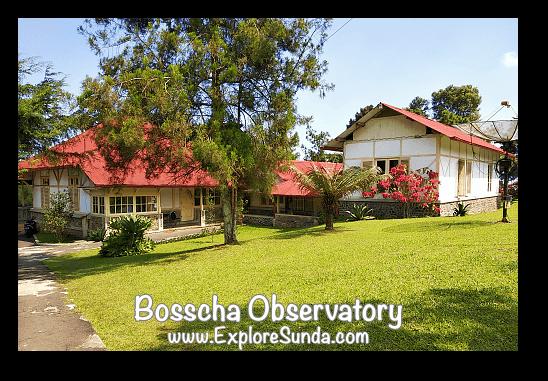 Bosscha Observatory complex