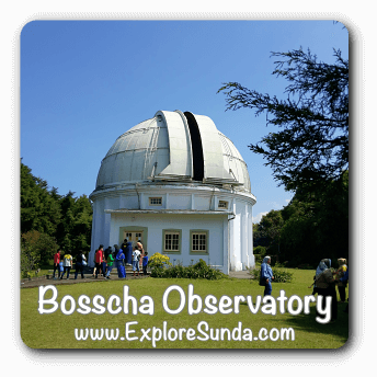 Bosscha Observatory, Lembang