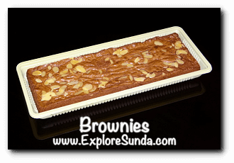 Brownies, a famous snack from Bandung
