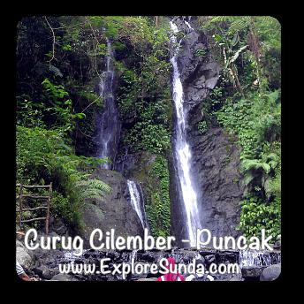 Cilember Waterfalls in Puncak Pass