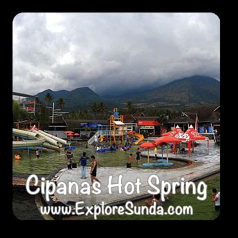 Cipanas Hot Spring in Garut