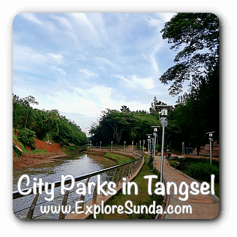 City parks in South Tangerang.