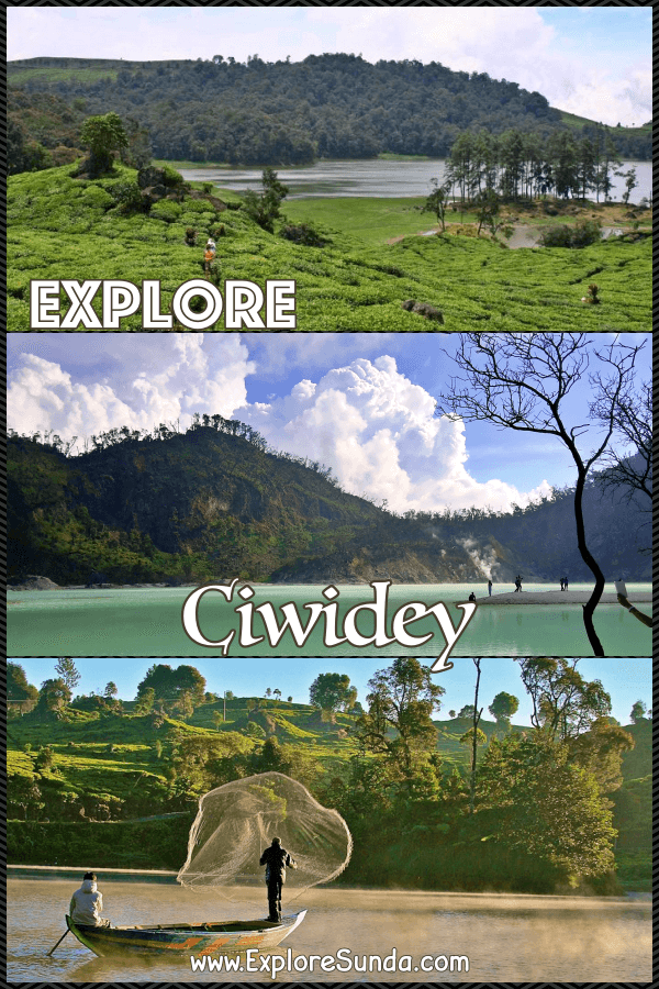 Explore #Ciwidey in southern #Bandung and enjoy the beauty of #KawahPutih crater, #SituPatenggang lake, #RancaUpas the deer conservatory, and pick strawberries in #StrawberryFarms