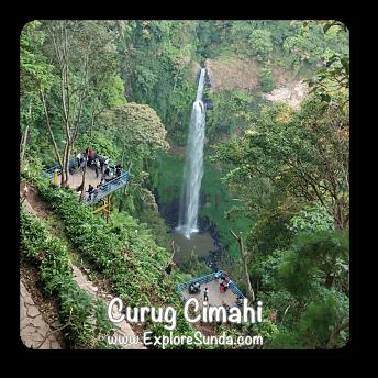 Cimahi Waterfalls - Bandung.