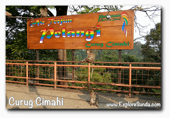 Curug Cimahi a.k.a. Rainbow Waterfall in Cisarua, Lembang