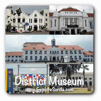 The District Museum at Kota Tua Jakarta