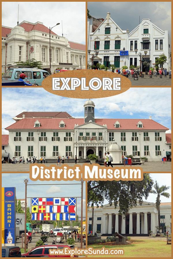 Explore District Museum at Kota Tua Jakarta | #ExploreSunda