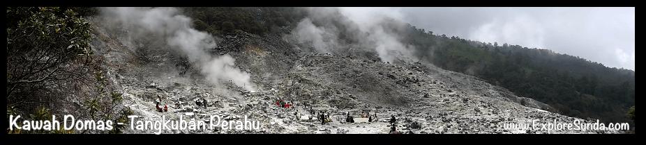 Domas Crater, Tangkuban Perahu - Cikole, Lembang