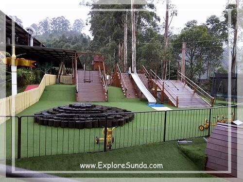 Bamboo Playground at Dusun Bambu,  Cisarua - Lembang