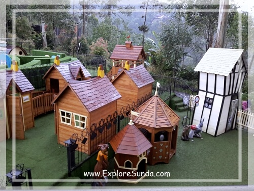 Rabbit Wonderland at Dusun Bambu,  Cisarua - Lembang