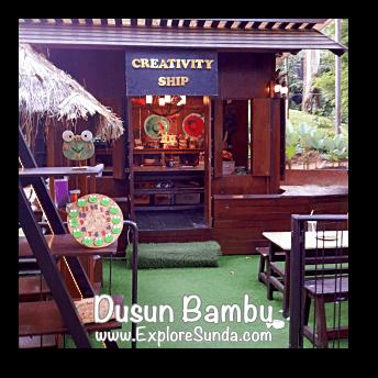 Creativity Ship at Dusun Bambu,  Cisarua - Lembang
