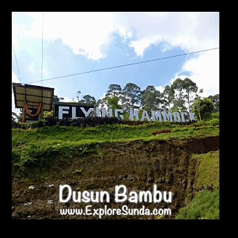 Flying Hammock at Dusun Bambu,  Cisarua - Lembang