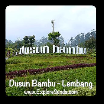 Dusun Bambu in Cisarua, Lembang