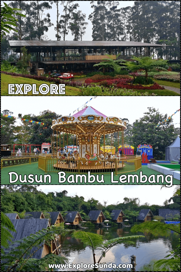 Dusun Bambu Lembang Bandung | A beautiful park full with fun activities for the whole family | #ExploreSunda #DusunBambu #Cisarua #Lembang #Bandung