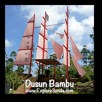 Pirate Ship at Dusun Bambu,  Cisarua - Lembang