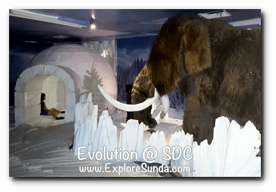 Evolution - Journey of the Earth at Summarecon Digital Center