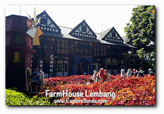 Souvenir shop in FarmHouse Lembang is also served as a great European backdrop :)