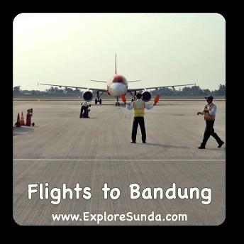 Flights to Bandung, Indonesia.