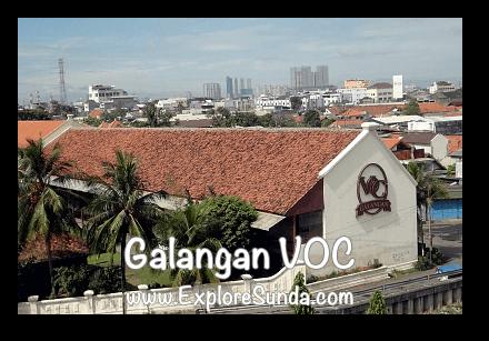 Galangan VOC (VOC Dockyard), view from the top floor of Menara Syahbandar