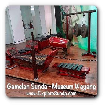 Gamelan Sunda - Museum Wayang