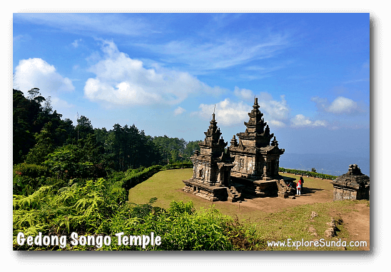 One of the temple in Candi Gedong Songo complex.