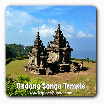 Horse ride at Gedong Songo Temple Complex, Central Java.