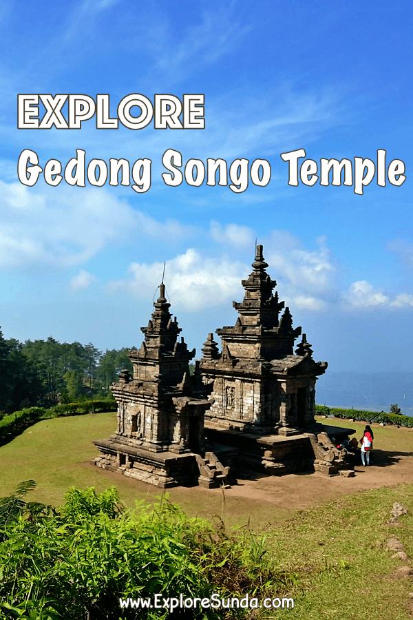 Explore #CandiGedongSongo   #GedongSongoTemple in Bandungan, #Semarang #CentralJava   #ExploreSunda.com