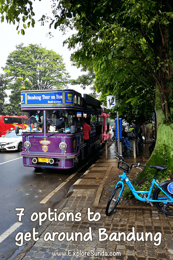 Getting Around Bandung: 7 Options to Easily Reach Your Destination