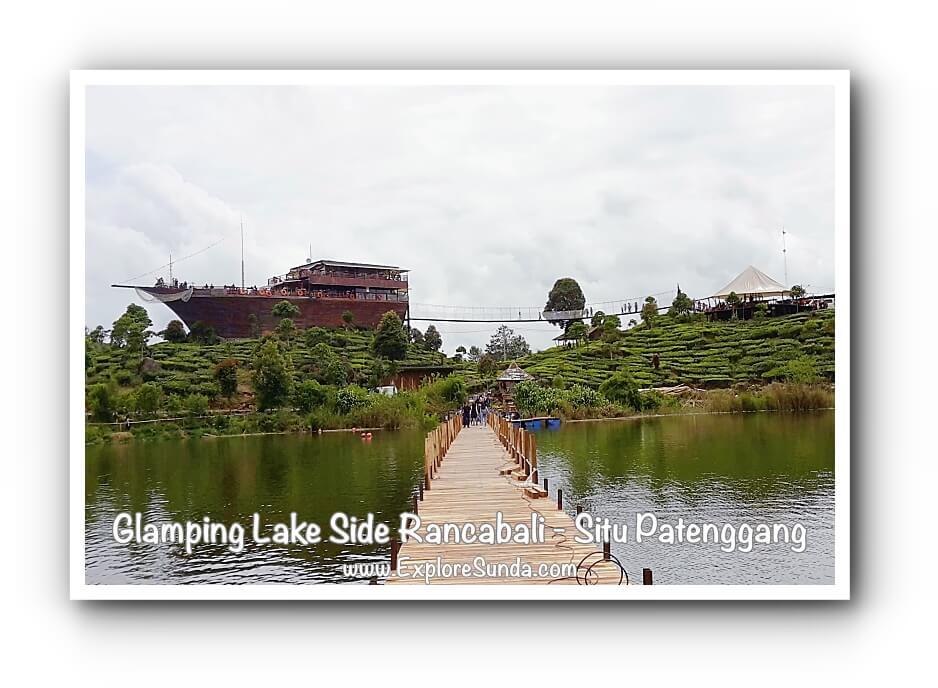 Pinisi Resto at Glamping Lake Side Rancabali, Situ Patenggang