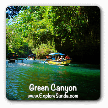 Green Canyon near Pangandaran.