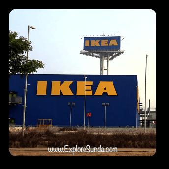 IKEA store at Alam Sutera, Tangerang Selatan