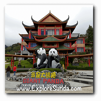 Istana Panda (Panda Palace) at Taman Safari Indonesia Cisarua