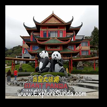 Istana Panda (Panda Palace) at Taman Safari Indonesia Cisarua Bogor.