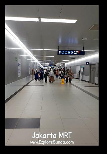 MRT Jakarta - Bundaran HI Station