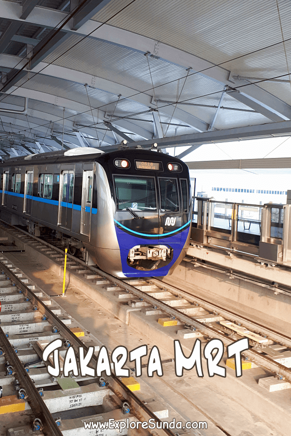 #MRTJakarta the newest public transportation in #Jakarta | Find out about the route, our exploration, and how to buy the tickets.
