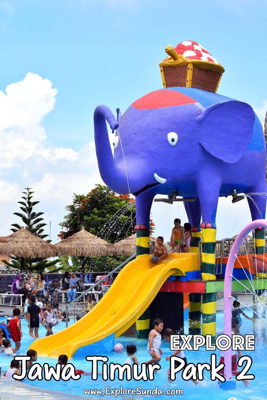 Have fun in Jatim Park 2 [Jawa Timur Park 2] | Get on fun rides, walk in the horror house, see wild animals in Batu Secret Zoo and the preserved ones in Museum Satwa | #ExploreSunda