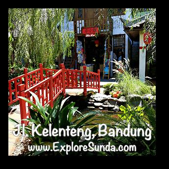 Chinatown at jalan Kelenteng Bandung