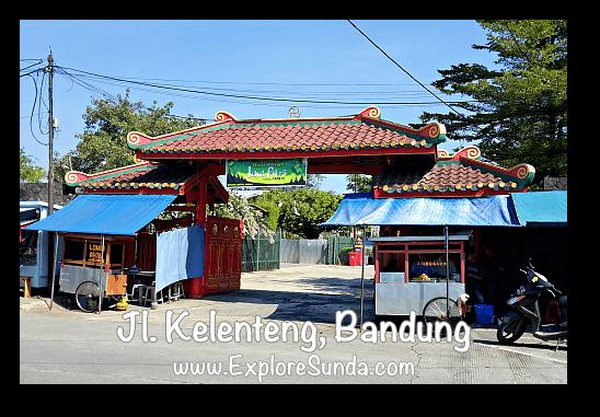 Kelenteng street - the China Town in Bandung.