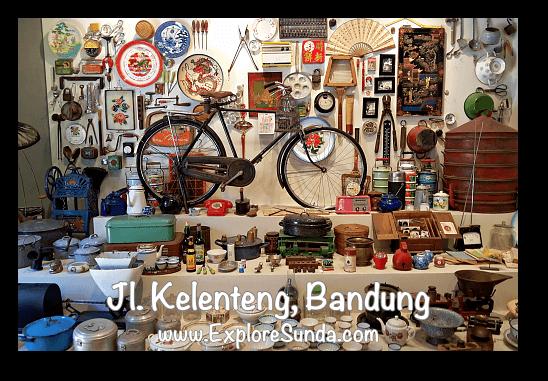 Museum in Chinatown at jalan Kelenteng Bandung
