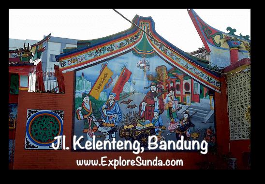 Vihara Satya Budhi, jalan Kelenteng Bandung
