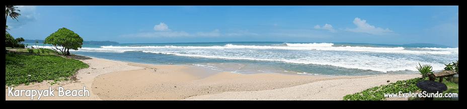 Karapyak Beach - Pangandaran