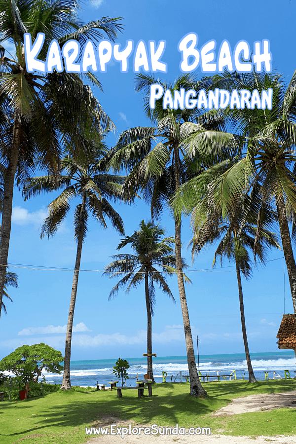 The vicinity of #Pangandaran | #KarapyakBeach | #ExploreSunda