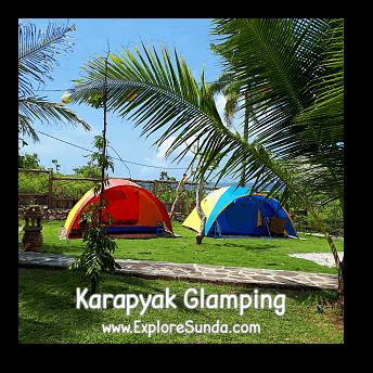 Karapyak Glamping at Karapyak Beach - Pangandaran