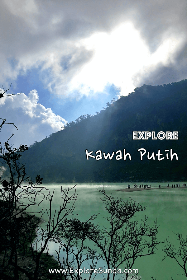 #KawahPutih , a gorgeous volcanic lake in #Ciwidey , #Bandung | Learn how to go there and what to expect | #ExploreSunda.com
