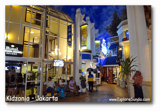 Streets of Kidzania Jakarta.